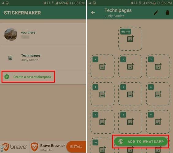 WhatsApp: Create Custom Stickers