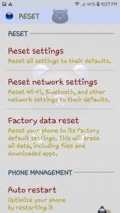 Galaxy J7: Factory Hard Reset