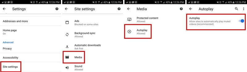 How to stop automatic downloads on chrome android