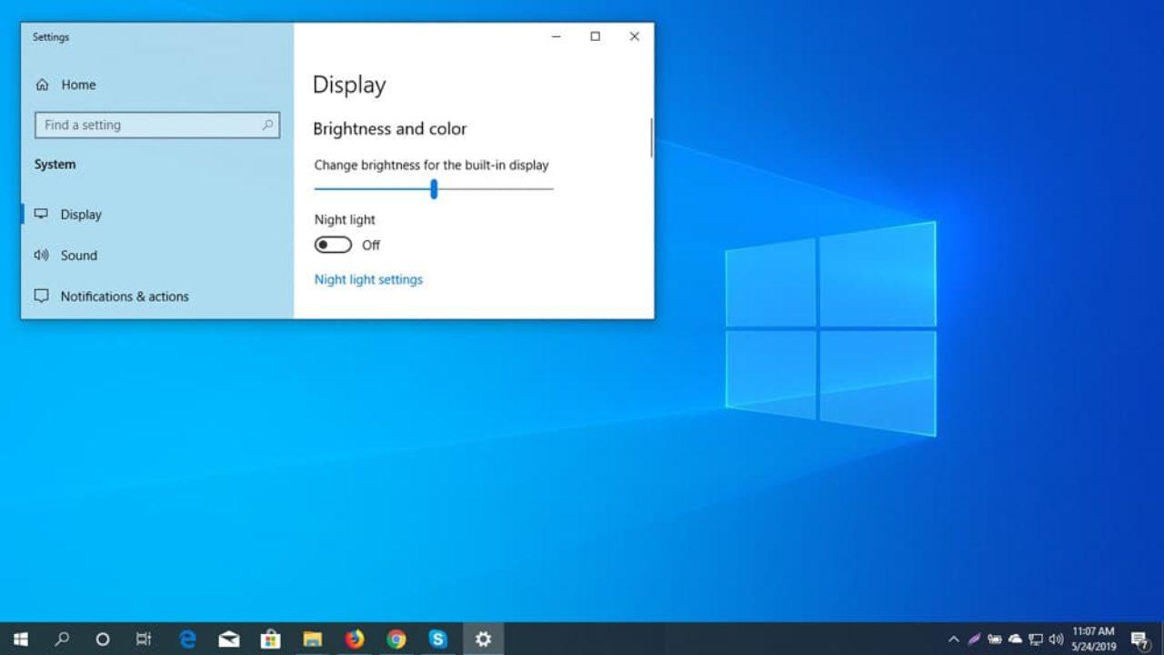 Windows 10 Change Screen Brightness