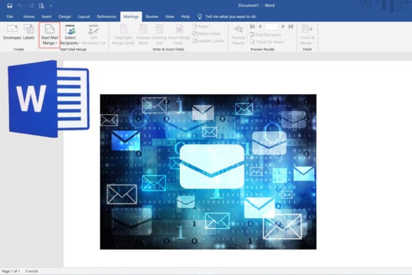 How To Send Bulk Emails Using Mail Merge In Microsoft Word