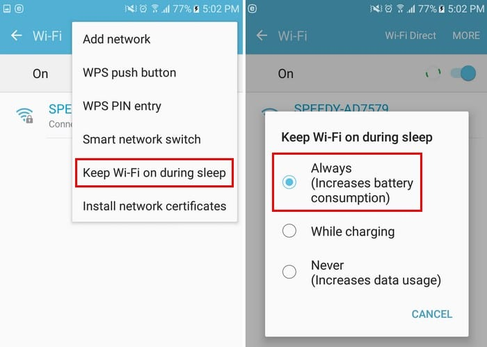 Android: Fix Delayed Notifications
