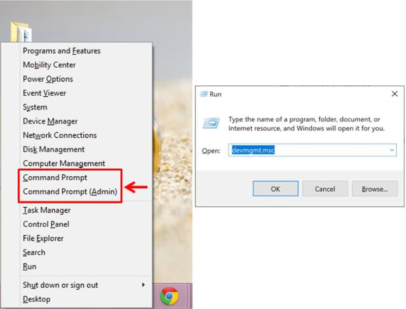 How to Access Device Manager from the Command Prompt