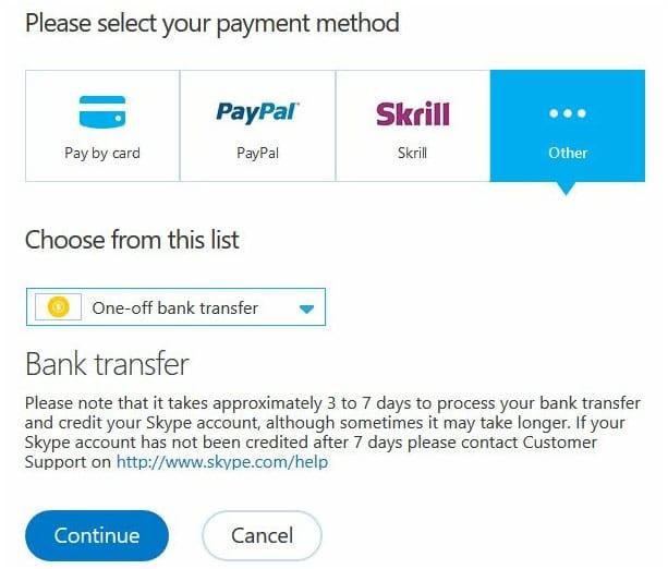 Skype Will Soon Support Sending Money Online
