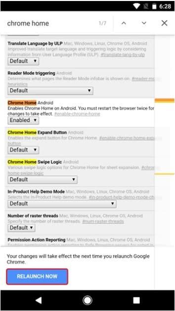 Chrome for Android: Move Chrome Address Bar to Bottom