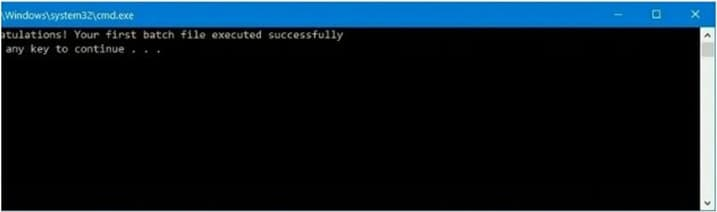 Create an Advanced Batch File