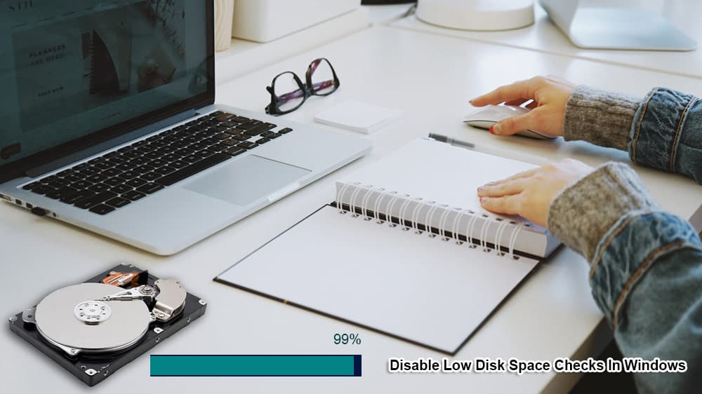 Disable Low Disk Space Checks In Windows