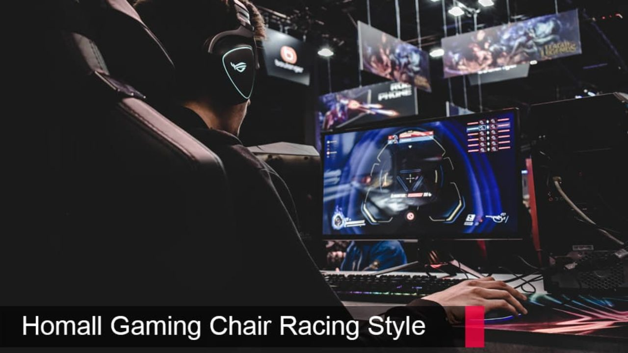 Picture of: Homall Gaming Chair Racing Style