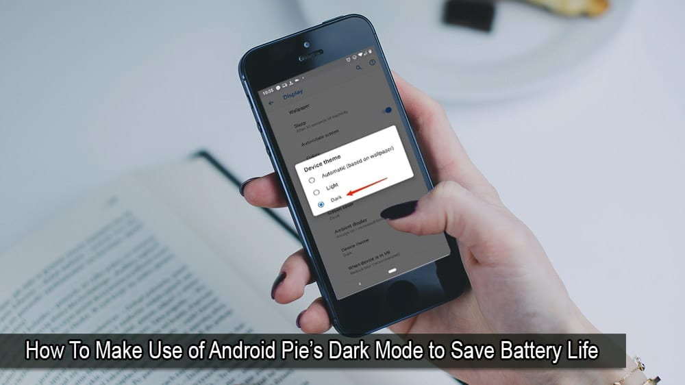 How to Make Use of Android Pie Dark Mode?