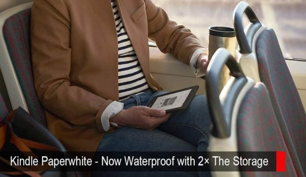 Kindle Paperwhite – Now Waterproof With 2× the Storage