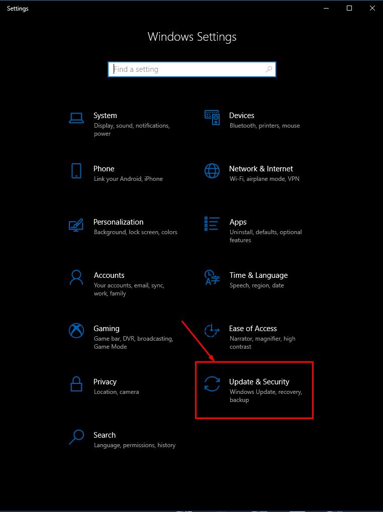 Windows 10: Pause Updates