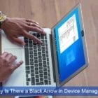 Why Is There a Black Arrow in Device Manager?