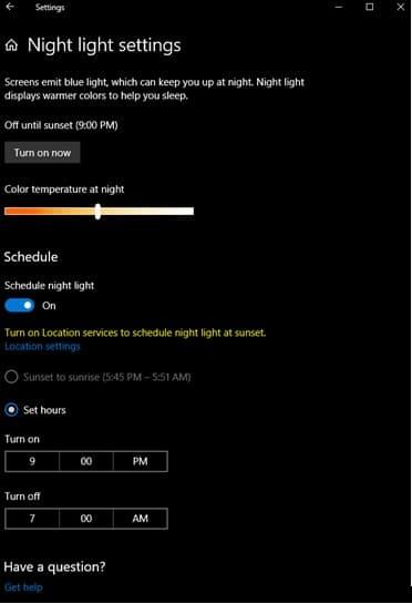 Windows 10 Home Dark mode