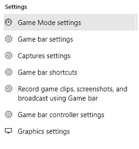 Windows 10 Home Game Mode
