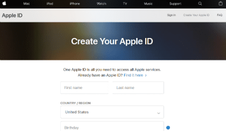 How to Make an Apple ID