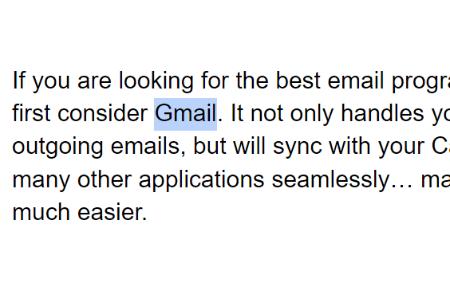 Google Docs: Create a Hyperlink