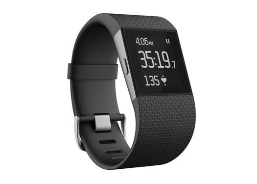 Fitbit Surge Fitness Super Watch, Black, Large (US Version)