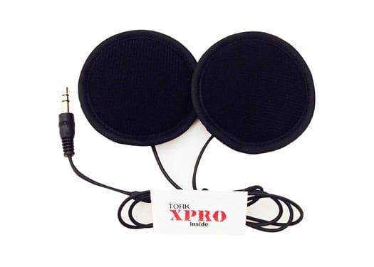 Tork X-Pro Speakers for Motorcycle Helmet
