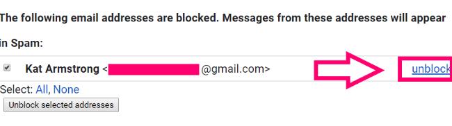 Blocking Someone on Gmail to Stop Spamming