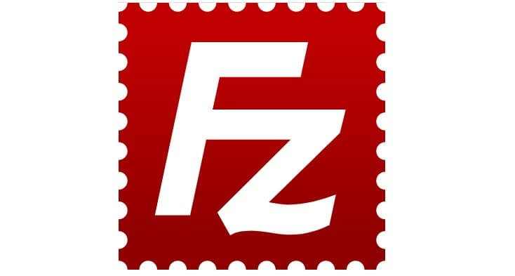 Filezilla Logo Header