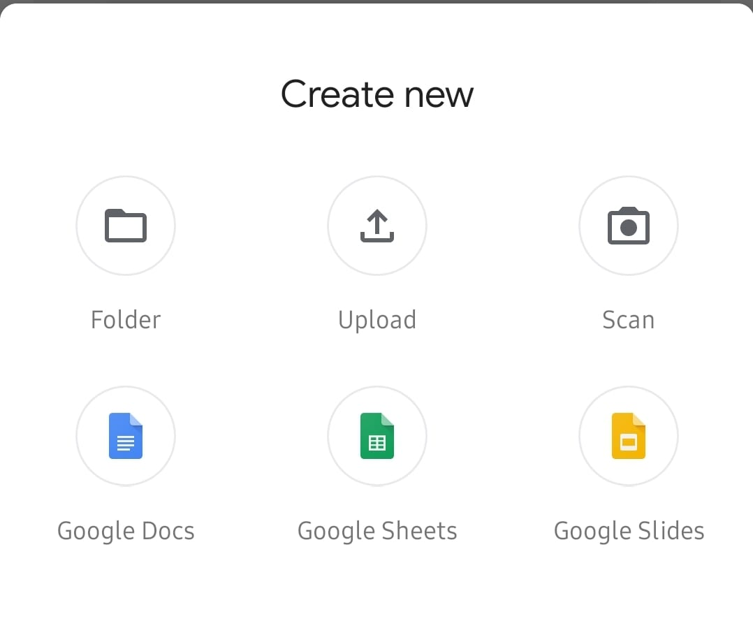 Google Drive: Upload Document From Android - Technipages