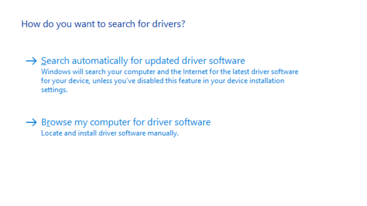 Windows 10: How to Update and Uninstall Drivers - Technipages