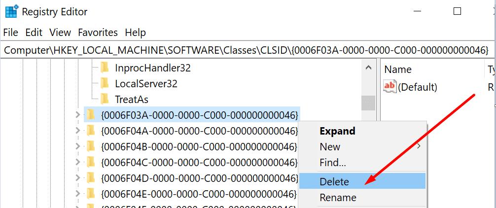 0006F03A-0000-0000-C000-000000000046 key