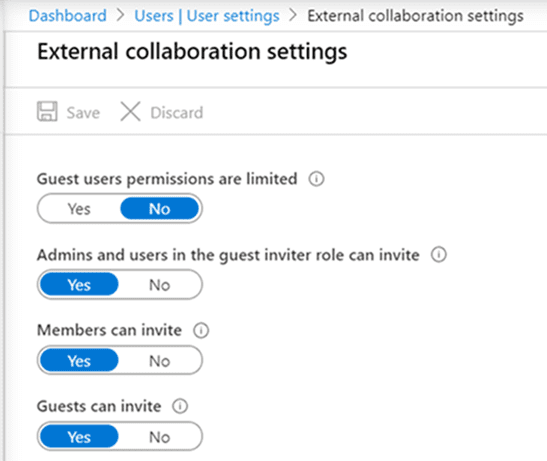 Office 365 Group access settings