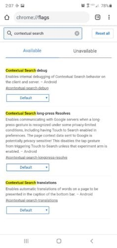 search definitions