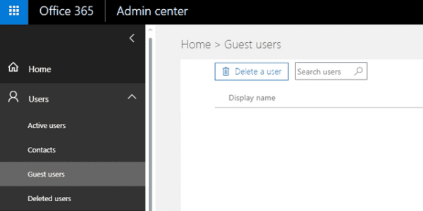 office 365 how to add guest users