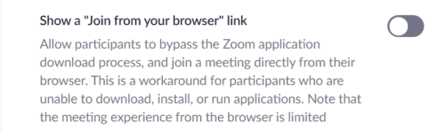 zoom join from your browser link