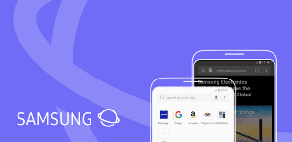 Samsung Android Browser: Enable the QR Code Scanner