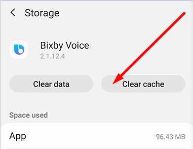 bixby voice clear cache.webp