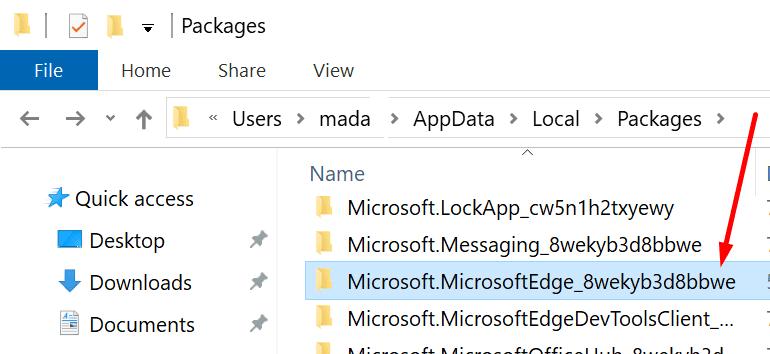 microsoft edge folder appdata