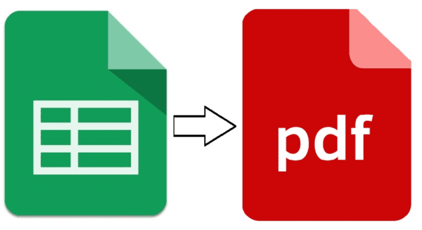 How to Convert Google Sheets to PDF