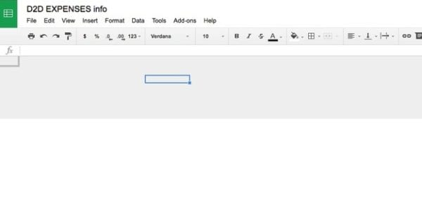 fix Google Sheets Goes Blank