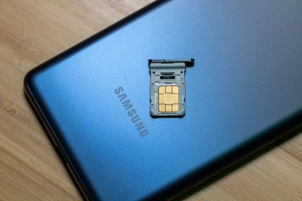 How to Insert and Remove SIM Card from Samsung Galaxy S20 FE