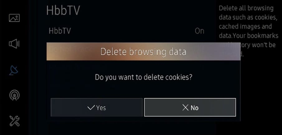 delete-browsing-data-samsung-tv