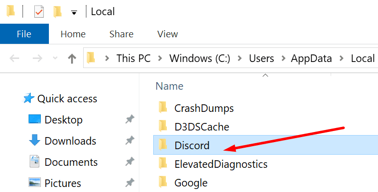 discord local appdata folder