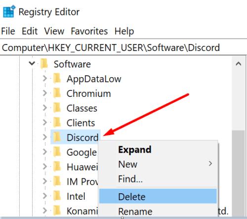 discord registry editor