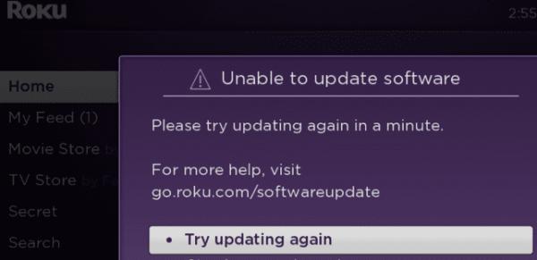 Troubleshooting Roku Not Updating Software