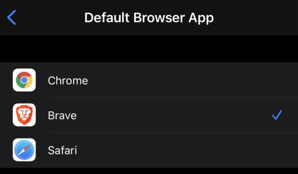 How to Change the Default Browser on iOS