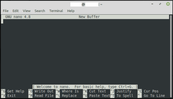 How to Use the Nano Text Editor in Linux