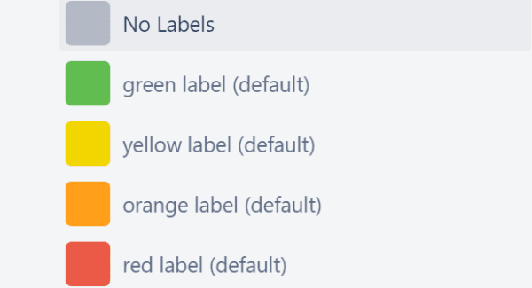 fix trello labels not appearing