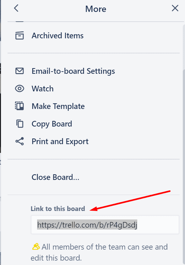 trello link to this board