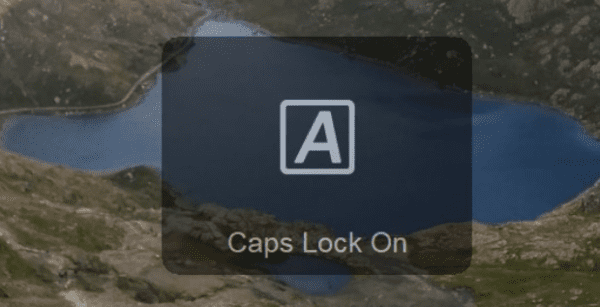 Windows 10: Disable Caps Lock Notifications