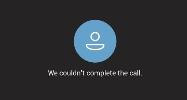 Microsoft Teams: We Couldn't Complete the Call