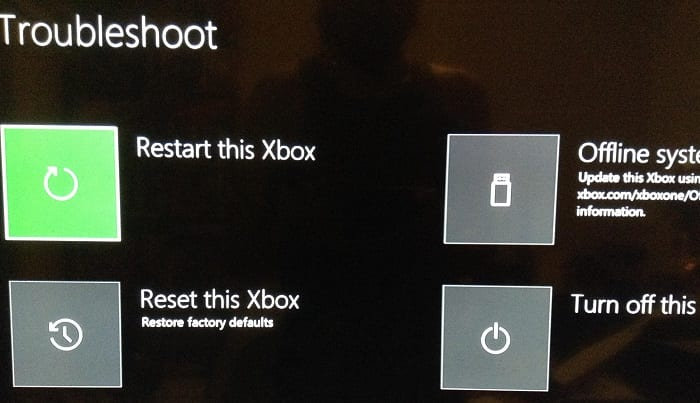 xbox troubleshooter