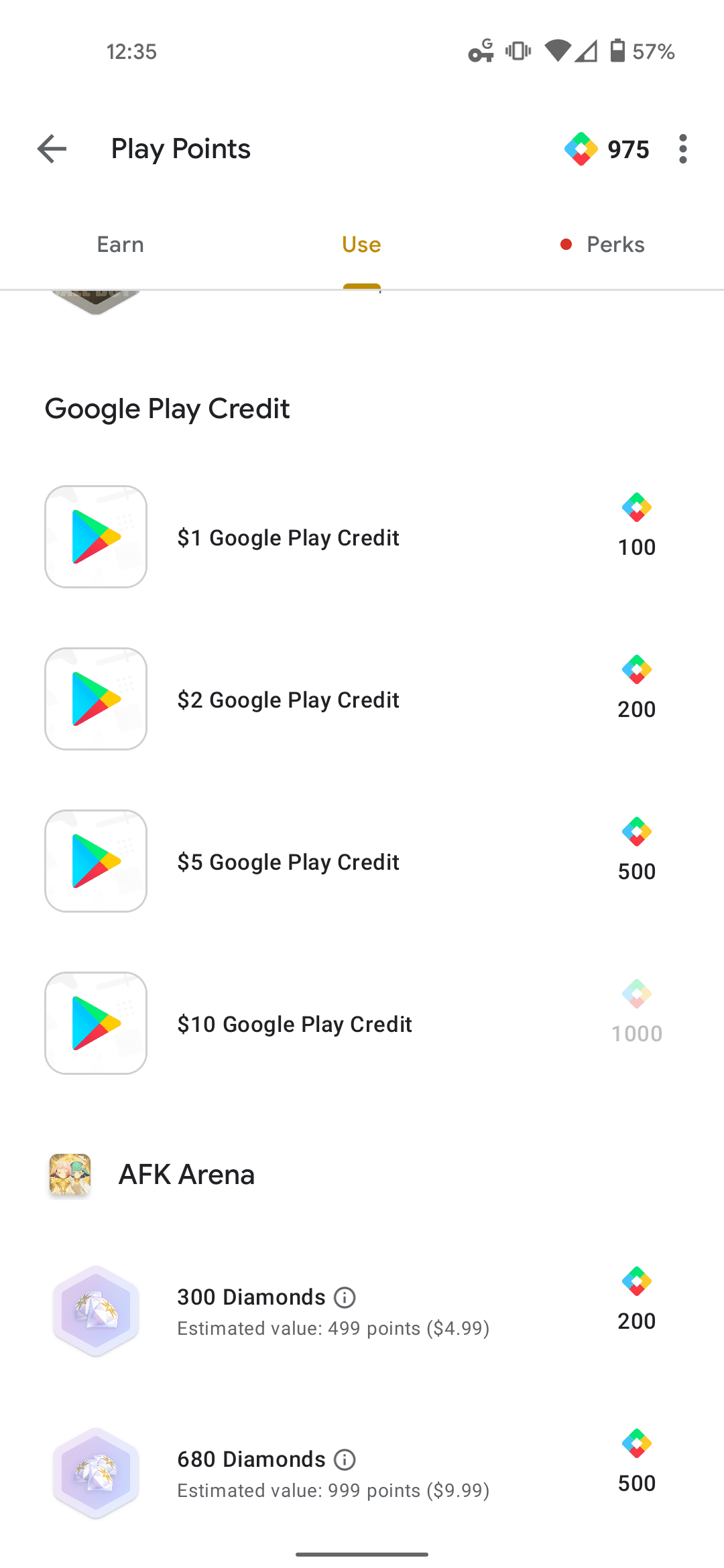 How to use Google Play Points 3