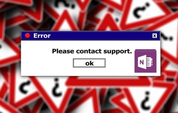 Fix OneNote Error 0xe00001bb: Section Is Corrupted